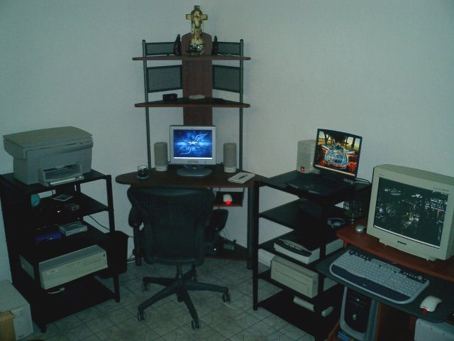 The hcgtv web server room